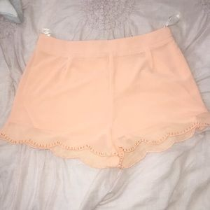 Blu Pepper brand Peach shorts!!